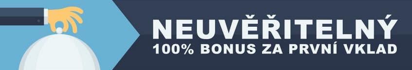 100% Bonus za první vklad