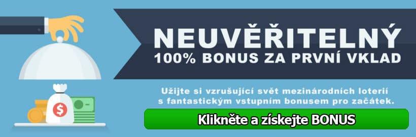 Získat 100% bonus za vklad