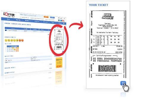 grafický obrazec na sázence loterie powerball u společnosti lottoland