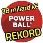 Powerball rekordní jackpot logo