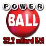 Powerball jackpot 32,2 miliard Kč