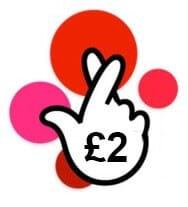tiket loterie Eurojackpot s více sloupci