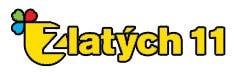 loterie Fortuna Zlatých 11 logo