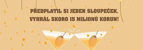 Vsadil jeden sloupeček loterie Eurojackpot a vyhrál 11 miliónů Kč