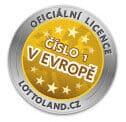 Odznak lottolandu za poskytování eurojackpot online