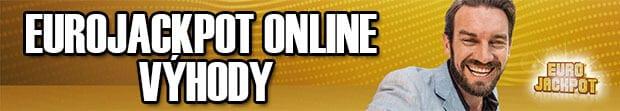 Výhody hraní loterie Eurojackpot online