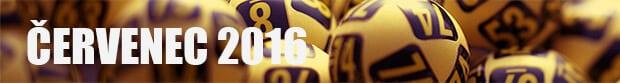 Měsíční zhodnocení loterií Sazka - Červenec 2016 - banner