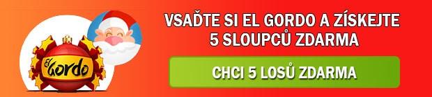 5 stíracích losů zdarma k loterii el Gordo