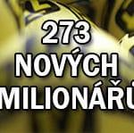 Česká republika má stovky nových milionářů