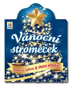 Vánoční stírací los od Loterie Fortuna - Vánoční stromeček