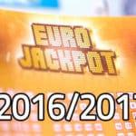 Nezastavitelný Eurojackpot na přelomu roku 2016/2017!