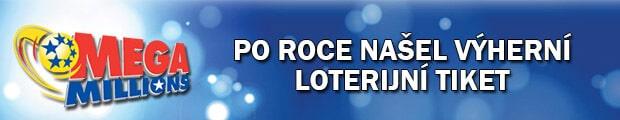 Po roce našel výherní los do loterie MegaMillions