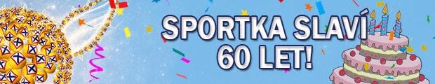 Sportka slaví 60 let