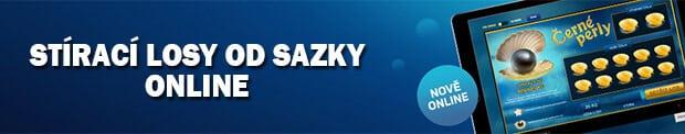 Stírací losy od Sazky online