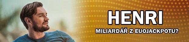 Henri - miliardář z Eurojackpotu