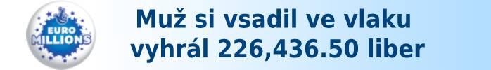 Muž si vsadil ve vlaku a vyhrál 226,436.50 liber.