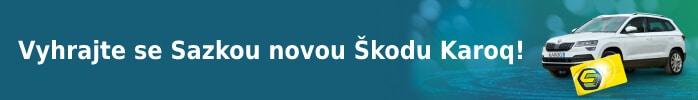 Vyhrajte se Sazkou novou Škodu Karoq!