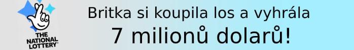 Britka si koupila los a vyhrála 7 milionů dolarů!