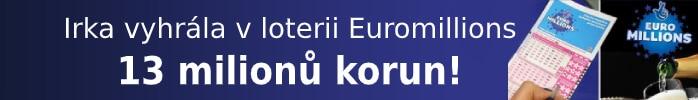 Irka vyhrála v loterii Euromillions 13 milionů korun