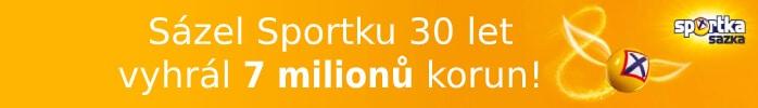 Sázel Sportku 30 let a vyhrál 7 milionů korun!